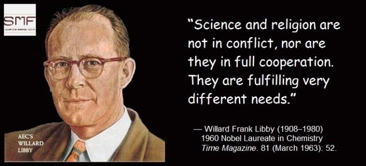 willard frank libby science meets faith