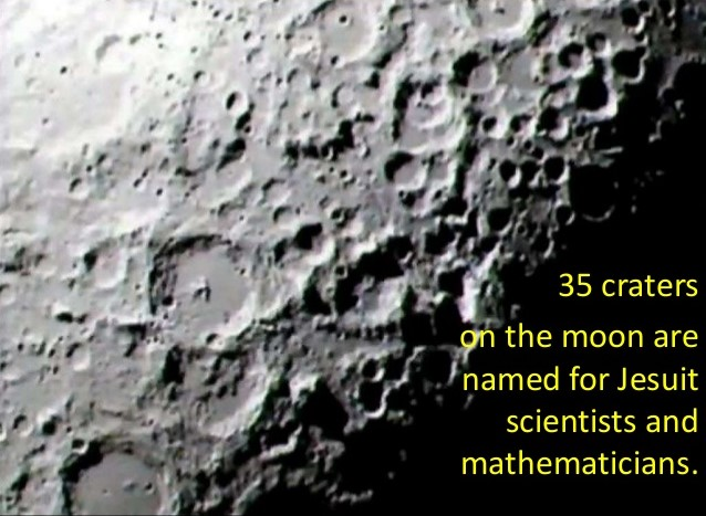 35 moon craters