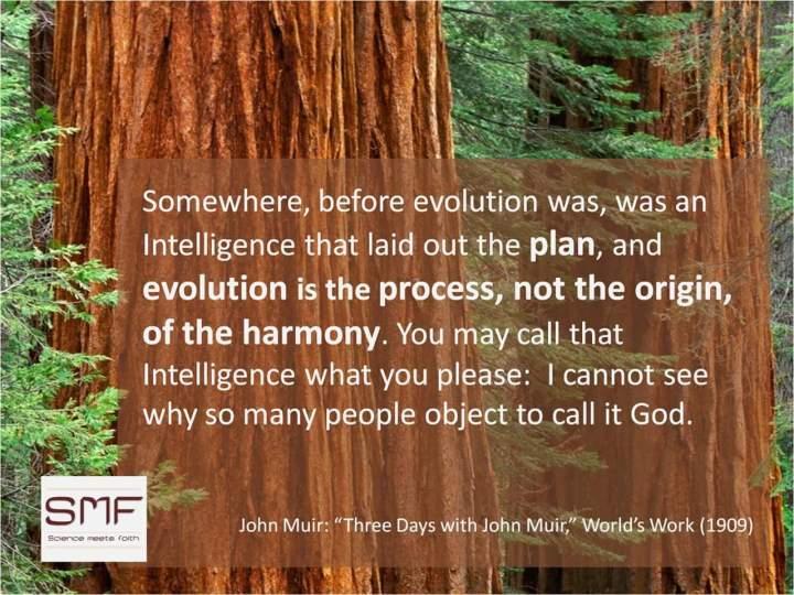 John Muir on Evolution